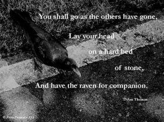 Dylan Thomas Quote The Ploughman's Gone